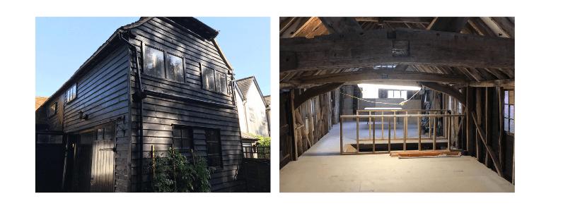 old mill barn standon